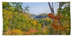 Fall In Gooseberry State Park Bath Towel