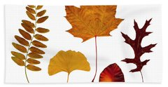 Fall Leaves Bath Towel