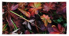Hand Towel featuring the photograph Fall Mix by Janice Westerberg