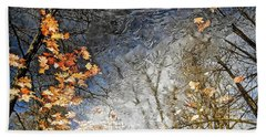 Fall Reflections Hand Towel