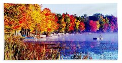 Bath Towel featuring the photograph Fall Splendor Of Mid-michigan by Daniel Thompson