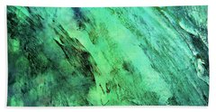 Bath Towel featuring the mixed media Fallen by Ally  White