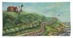 Falmouth Road Race Bath Towel