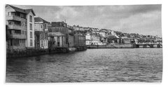 Falmouth Waterfront Bath Towel by Brian Roscorla