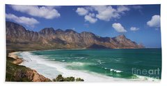 Bath Towel featuring the photograph False Bay Drive by Jeremy Hayden