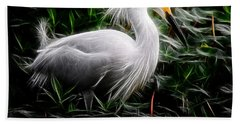 Fancy Feathers Bath Towel
