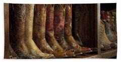 Fancy Western Wear Boots Hand Towel