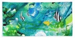 Fantasy Sea Hand Towel