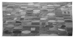 Farming In The Sky Bath Towel