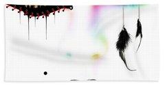 Fashionista Soft Rainbow Bath Towel