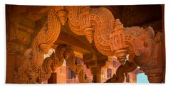 Fatehpur Sikri Photographs Bath Towels