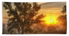 Father's Day Sunrise Hand Towel