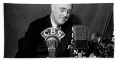 Fdr Addresses Labor Strikes Hand Towel