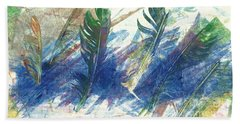 Feather Dance Bath Towel