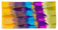 Feathers Abstract Hand Towel