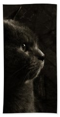 Feline Perfection Bath Towel