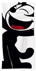 Felix The Cat Bath Towel