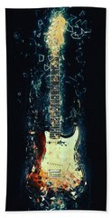 Fender Strat Hand Towel