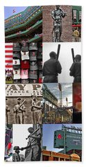 Fenway Memories Bath Towel by Joann Vitali