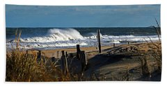 Fenwick Dunes And Waves Hand Towel