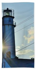 Fenwick Island Lighthouse - Delaware Hand Towel