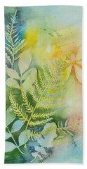 Ferns 'n' Leaves Hand Towel
