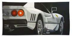 Ferrari 288 Gto Bath Towel