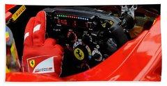 Ferrari Formula 1 Cockpit Hand Towel