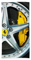 Ferrari Wheel 3 Hand Towel