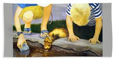 Ferret And Friends Hand Towel