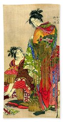 Festival Costumes 1785 Bath Towel by Padre Art