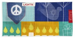 Festival Of Lights Hand Towel