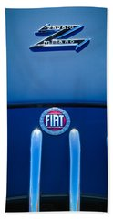 Fiat 750 Mm Zagato Panoramica Coupe Grille Emblem Bath Towel