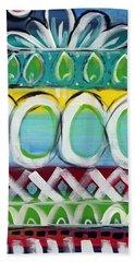 Fiesta - Colorful Painting Hand Towel