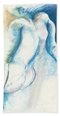 Figurative Abstract Hand Towel