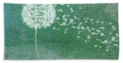 Bath Towel featuring the digital art Fill The Earth 1 by Andee Design
