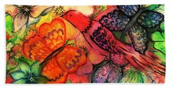 Finding Sanctuary Hand Towel by Hazel Holland