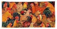 Fine Fowl Hand Towel