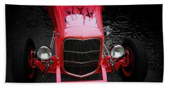 Hot Rod Hand Towel featuring the photograph Fire And Water by Aaron Berg