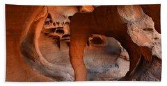 Fire Cave Windstone Arch Nevada Bath Towel