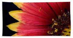 Hand Towel featuring the photograph Fire Spokes by Paul Rebmann