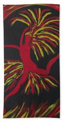 Firebird Bath Towel