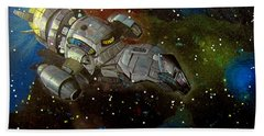 Firefly Serenity Ship Bath Towel