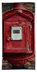 Fireman - The Fire Alarm Box Hand Towel