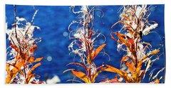Fireweed Flower Hand Towel