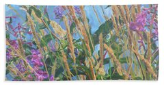 Hand Towel featuring the photograph Fireweed Number Six by Brian Boyle