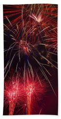 Firework Majesty  Hand Towel