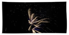 Fireworks - Dragonflies In The Stars Bath Towel