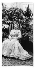First Lady Ida Mckinley Bath Towel