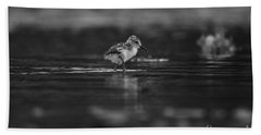 Hand Towel featuring the photograph   First Steps by John F Tsumas